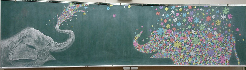 メイン大会 (黒板アート)結果発表!